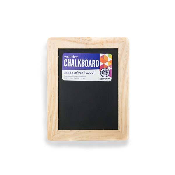 Wooden Chalkboard Craft Project Ideas