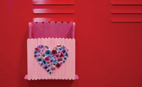 Locker Valentine Card Holder  Craft Project Ideas
