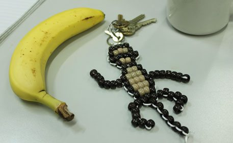 Monkey Bead Pet - Craft Project Ideas