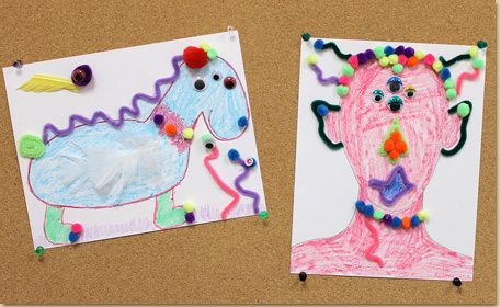 Monster Get To Know You Group Craft Craft Project Ideas
