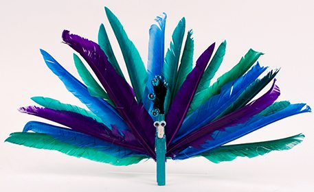 Craft project ideas arts and crafts ideas for kids and for Peacock crafts for adults