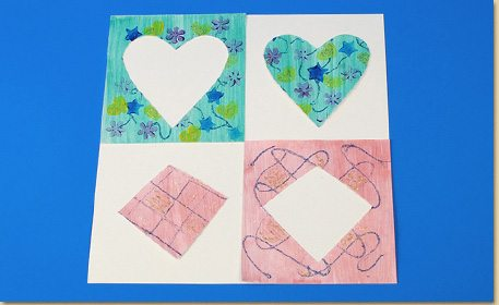positive and negative art craft project ideas