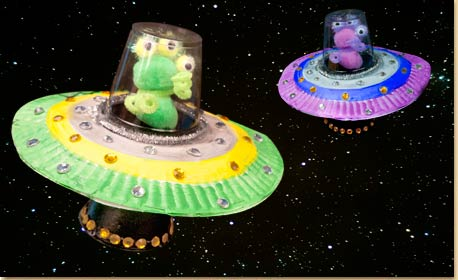 Alien Spaceship Craft Project Ideas