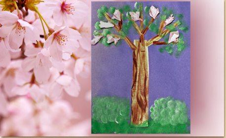 Cherry Tree Art Craft Project Ideas