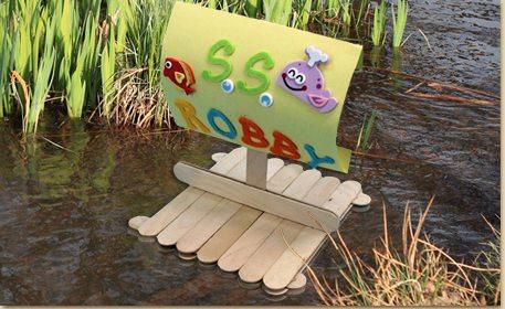 Craft Stick Raft - Craft Project Ideas