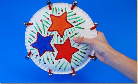 jingling tambourine craft project ideas