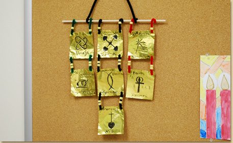 Kwanzaa Principles Wall Hanging - Craft Project Ideas