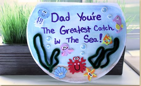 dad s a great catch card craft project ideas