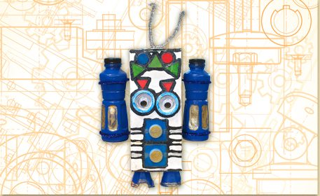 Use Recycled Materials To Make A Fun Robot Bank Pair This Craft With Lesson About The Importance Of Saving And Identifying Different Coins What