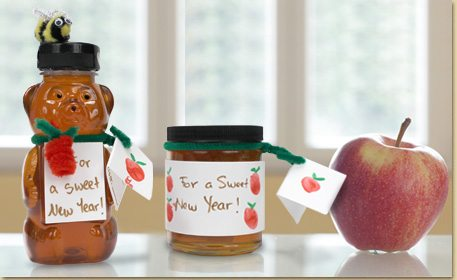 as honey and apples are often consumed on rosh hashanah decorate a mini honey jar with these themes and celebrate a sweet jewish new year