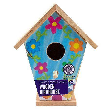 Wooden Birdhouse Craft Project Ideas
