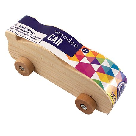 Wooden Car Craft Project Ideas