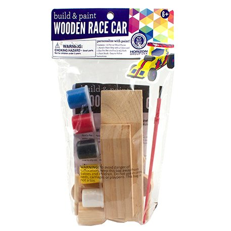 Build Paint Your Own Wooden Race Car Craft Project Ideas
