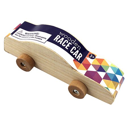Wooden Race Car Craft Project Ideas