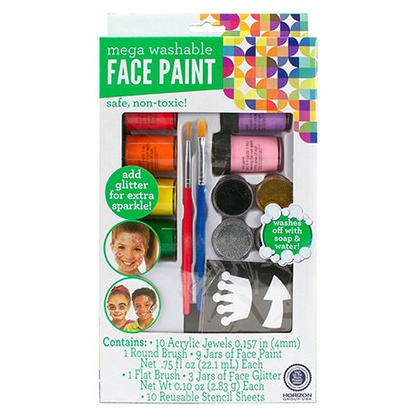 Kids Craft Mega Face Paint Set