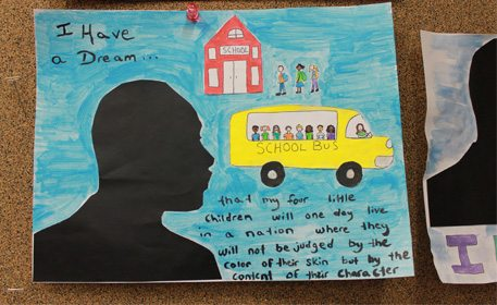 I Have A Dream Collage Craft Project Ideas