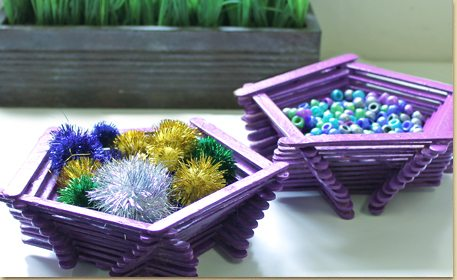craft sticks ideas pentagon craft stick bowl craft project ideas 1661