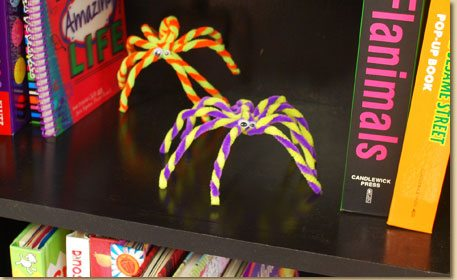 fuzzy sticks craft ideas fuzzy stick spiders craft project ideas 4539