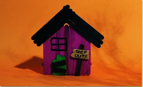haunted house craft project ideas