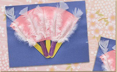 Japanese Fan Art Craft Project Ideas