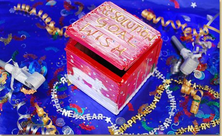 Resolution Keepsake Box Craft Project Ideas
