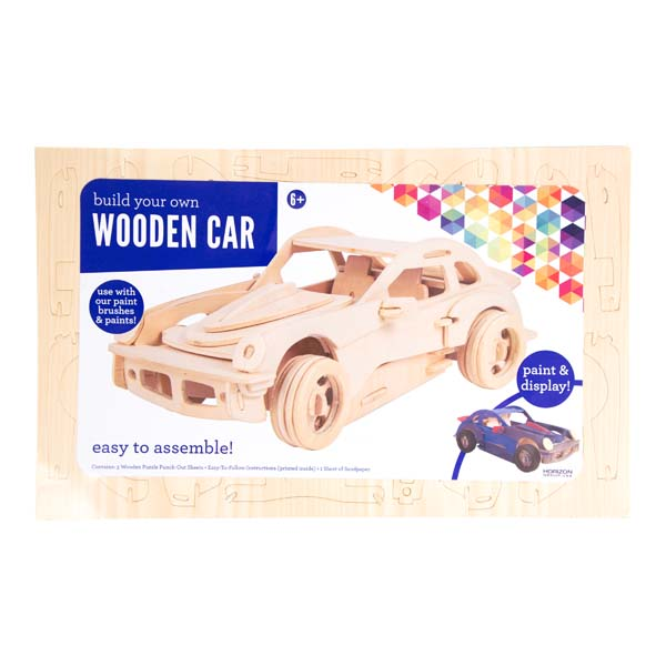 Build Your Own Wooden Car Craft Project Ideas