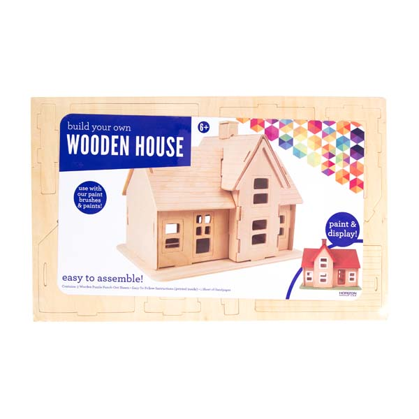Build Your Own Wooden House