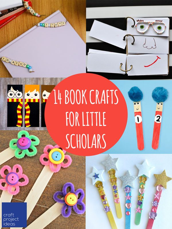 14 Book Inspired Crafts For Kids Craft Project Ideas
