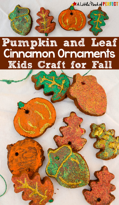 A Little Pinch of Perfect Fall Cinnamon Ornaments