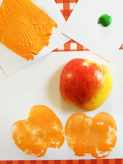 Frugal Mom Eh Apple Stamping