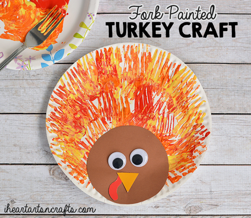 Ten terrific turkey crafts craft project ideas for Thanksgiving turkey arts and crafts