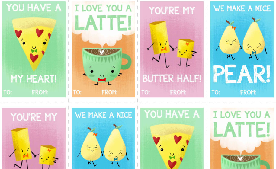 photo regarding Free Printable Valentines named No cost Printable Valentines! - youngsters
