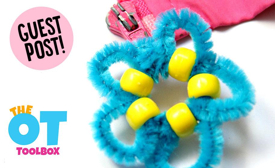 Guest Post: Flower Zipper Pull Craft - Craft Project Ideas