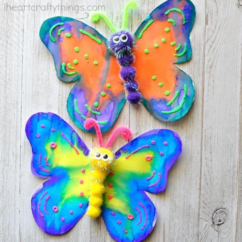Craft Project Ideas Melty Bead Butterflies