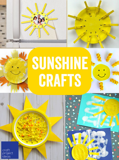11 Sunshine Crafts To Brighten Your Day