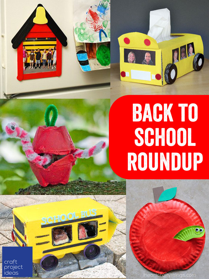 Back to School Roundup - Craft Project Ideas