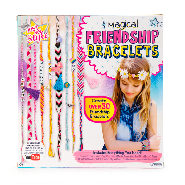 Just My Style Magical Friendship Bracelets Craft Project Ideas