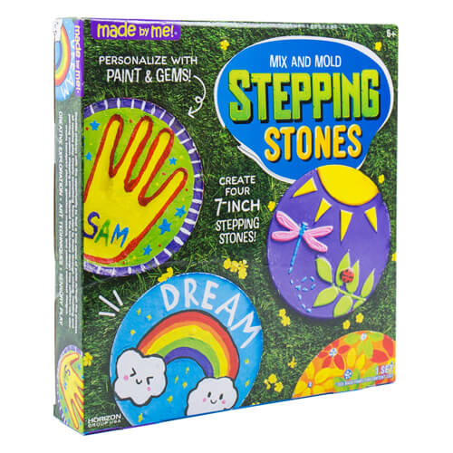 Made By Me Mix And Mold Stepping Stones Craft Project Ideas