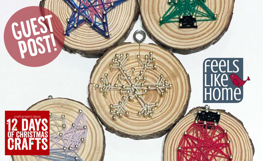 Guest Post: Christmas String Art for Beginners - Craft Project Ideas