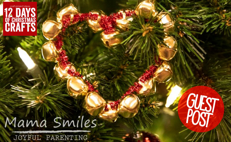 Guest Post Diy Jingle Bell Christmas Ornaments Craft For Kids
