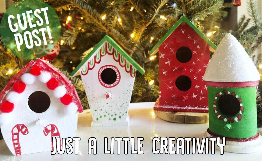 Guest Post Gingerbread Bird Houses Craft Project Ideas