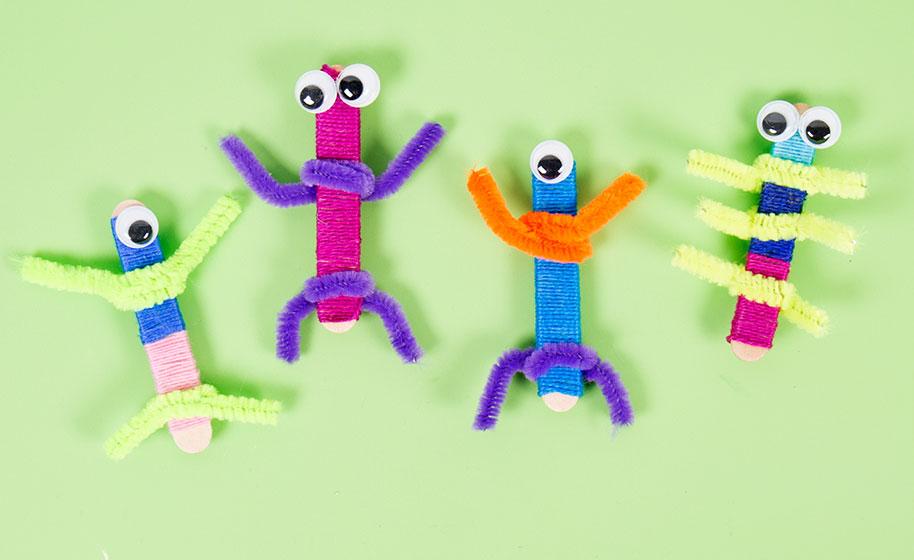 7f1185555 Worry Dolls - Craft Project Ideas