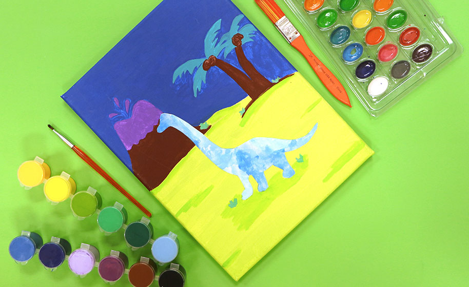 Dinosaur Arts And Crafts Projects