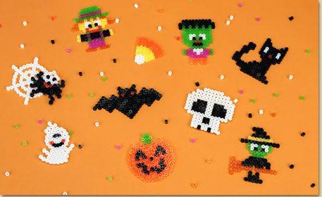 halloween melty beads
