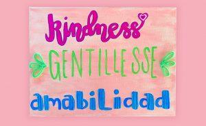 Kindness Canvas Craft