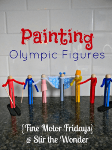 Olympic Painting Figures