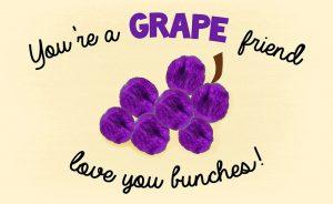 Grape Printable Template