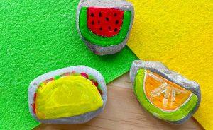 Ugli Fruit Rock Art Craft
