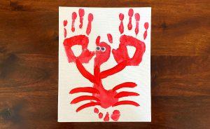 Lobster Handprint Craft
