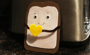 Toast with Butter Foam Craft